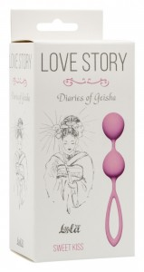 МС 3005-01Lola Вагинальные шарики Love Story Diaries of a Geisha Sweet Kiss
