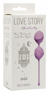 МС 3004-05Lola Вагинальные шарики Love Story One Thousand and One Nights Violet Fantasy
