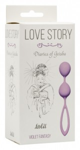 МС 3005-05Lola Вагинальные шарики Love Story Diaries of a Geisha Violet Fantasy