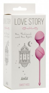 МС 3004-01Lola Вагинальные шарики Love Story One Thousand and One Nights Sweet Kiss